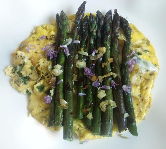 asparagus eggs