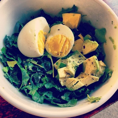 kale eggs