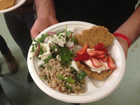 Mission High School school food