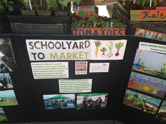 schoolyard to market