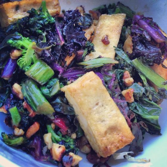 vegetables tofu